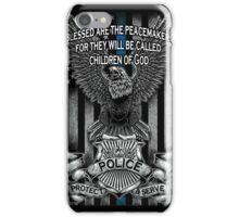 Children of God-Blue Lives Matter iPhone Case/Skin