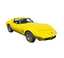 1975 Corvette Stingray Muscle Car Photographic Print