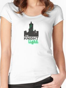 The knight light podcast merch  Women's Fitted Scoop T-Shirt