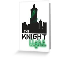 The knight light podcast merch  Greeting Card