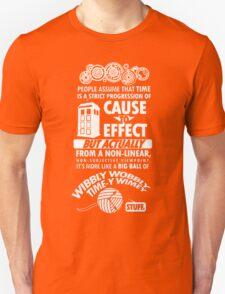 Wibbly wobbly Unisex T-Shirt