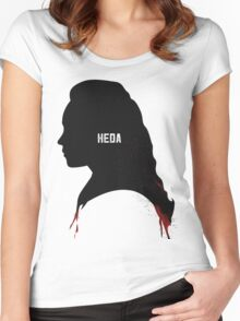 heda lexa Women's Fitted Scoop T-Shirt
