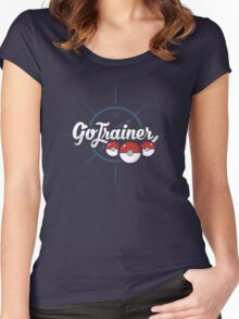 Go Trainer Women's Fitted Scoop T-Shirt
