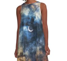 Solar Eclipse A-Line Dress