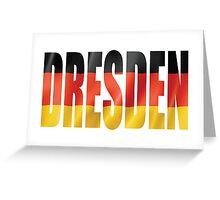 Dresden. Greeting Card