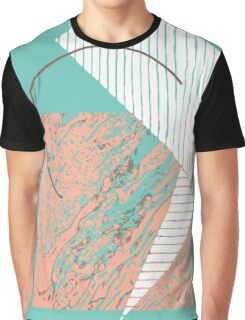 CREASE FOLD MIX DRINK Graphic T-Shirt