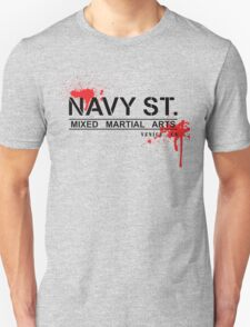 NAVY STREET MMA BLOOD Unisex T-Shirt