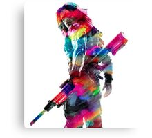 Winter Soldier Canvas Print