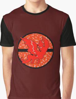 Pokemon GO Team Valor Graphic T-Shirt