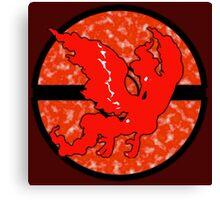 Pokemon GO Team Valor Canvas Print