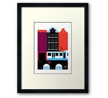 Postcards from Amsterdam / Tram Framed Print