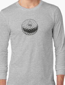 Golfing tshirt - East Peak Apparel - Golf Ball Print Long Sleeve T-Shirt