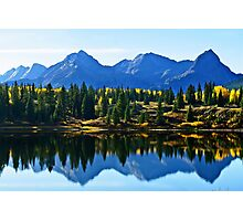 Purple Mountains Majesty Photographic Print
