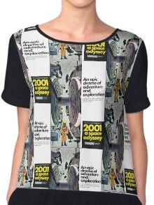2001: A Space Odyessy Chiffon Top