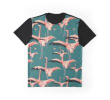 tropical flamingo Graphic T-Shirt