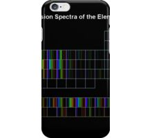 Periodic Table of Elements Spectra iPhone Case/Skin