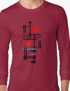 Red - Contempo Long Sleeve T-Shirt