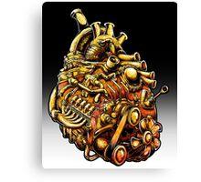 Machine Heart Canvas Print