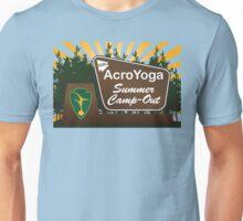 NW AcroYoga Summer Campout - Blue Unisex T-Shirt