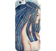 Femme aquarelle iPhone Case/Skin