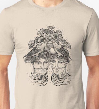 Gemini for colour backgrounds Unisex T-Shirt