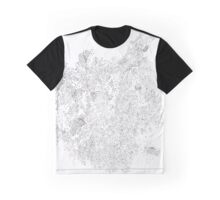Polymer crystallization, pen and ink on paper Graphic T-Shirt