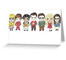 Sheldon and Friends Greeting Card