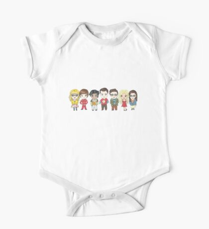 Sheldon and Friends One Piece - Short Sleeve
