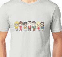 Sheldon and Friends Unisex T-Shirt