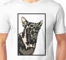 Angry German Shepherd Unisex T-Shirt