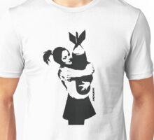 BANKSY - BOMB HUGGER Unisex T-Shirt