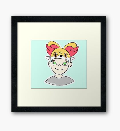 Japan!Michael Framed Print