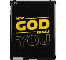 May GOD Bless YOU iPad Case/Skin