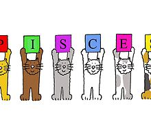 Pisces Birthday cats. by KateTaylor
