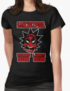 SANCHEZPOOL - RICK n MORTY Womens Fitted T-Shirt
