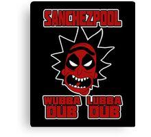 SANCHEZPOOL - RICK n MORTY Canvas Print