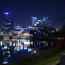 By light Melbourne by Peter Krause