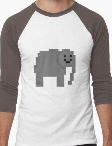 Unturned Elephant Men's Baseball ¾ T-Shirt