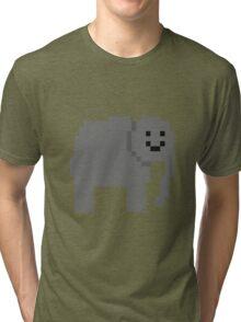 Unturned Elephant Tri-blend T-Shirt