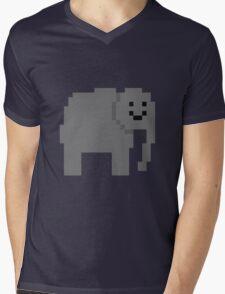 Unturned Elephant Mens V-Neck T-Shirt