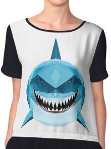 BLUE SHARK FINDING DORY AND NEMO Chiffon Top