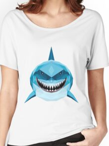 BLUE SHARK FINDING DORY AND NEMO Women's Relaxed Fit T-Shirt