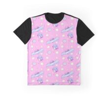 Drippy Planets Graphic T-Shirt