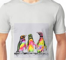 Neon penguins Unisex T-Shirt