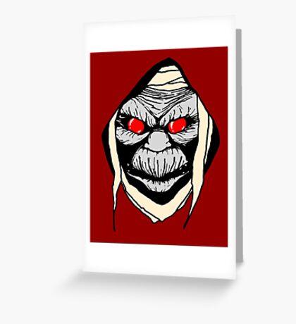 Mumm Ra Greeting Card