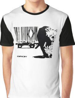 BANKSY - BARCODE Graphic T-Shirt