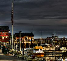 Early In The Morning At The Bandon Boat Basin by thomr