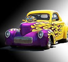 1941 Willys Coupe 'Studio 7' by DaveKoontz