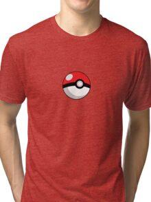 Pokeball Tri-blend T-Shirt