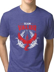 Pokemon Go team Valor Tri-blend T-Shirt